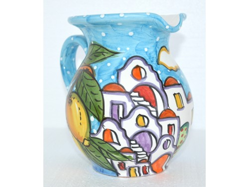 Pitcher Houses light blue