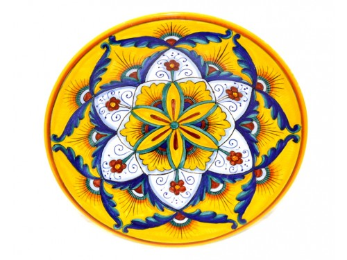 Wall Plate Star yellow