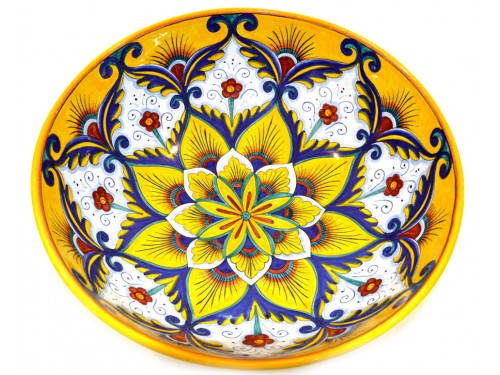 Round Bowl Star Yellow