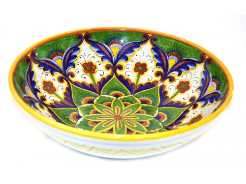 Round Bowl Star green