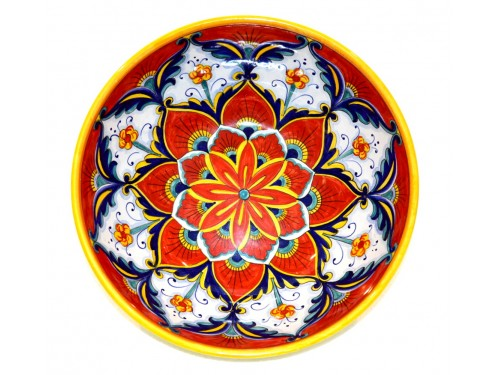 Round Bowl Star red