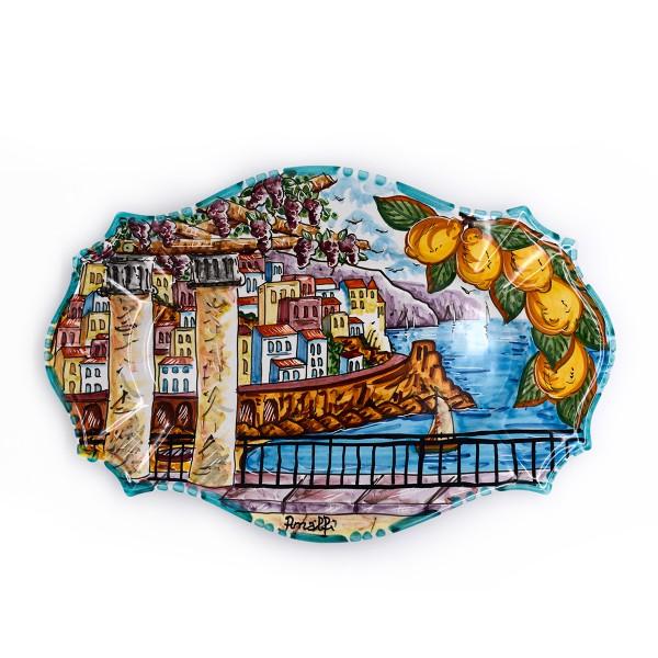 Rectangular Plate Amalfi '800