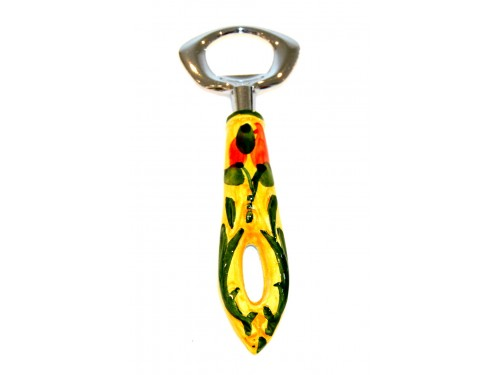 Bottle opener chili peppers