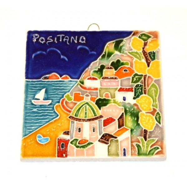 Tile Positano squared (3,95 x 3,95 inches)