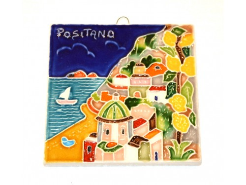 Tile Positano squared (3,95 x 3,95 inches)