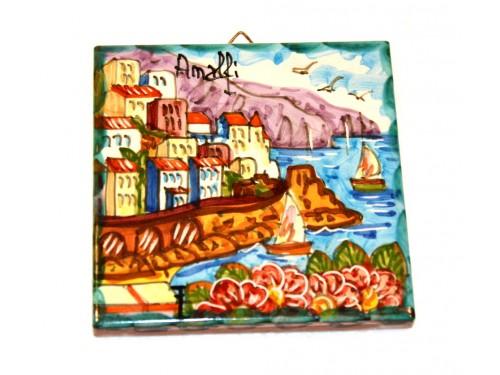Mattonella Amalfi verde blu 10 x 10