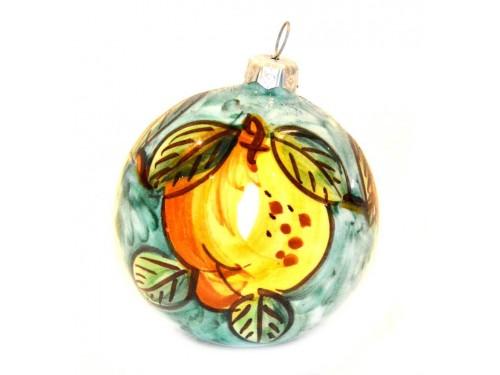 Pallina di Natale Limone verde