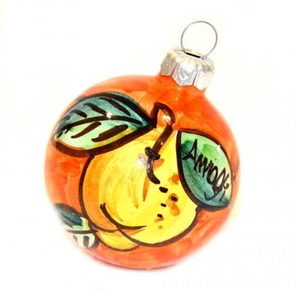 Ornament Lemon orange