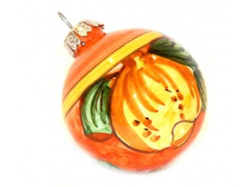 Ornament Lemon orange & yellow