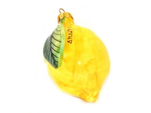 Pallina di Natale forma limone