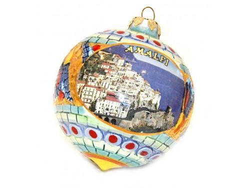 Pallina di Natale Bizantino Amalfi verde