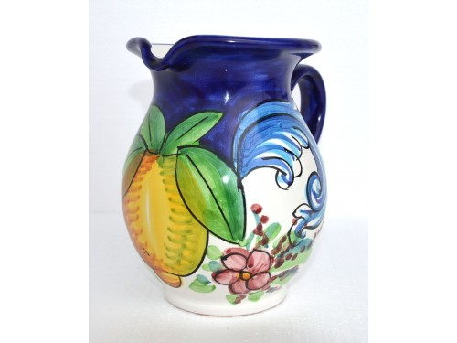 Pitcher Barocco blue