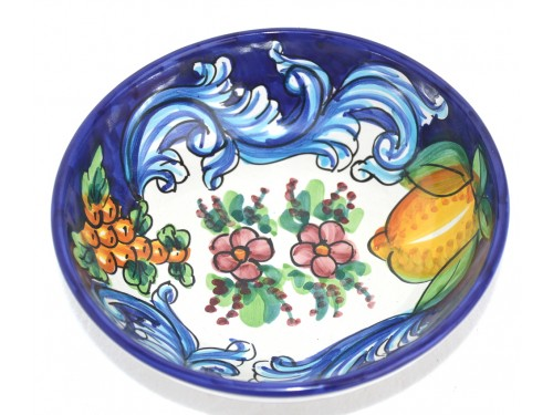 Soup bowl Barocco Blue
