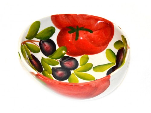 Bowl Appetizer Tomato & Olives 5,90 inches