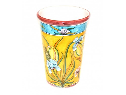 Vase - Ice Bucket Lemon Iris Yellow