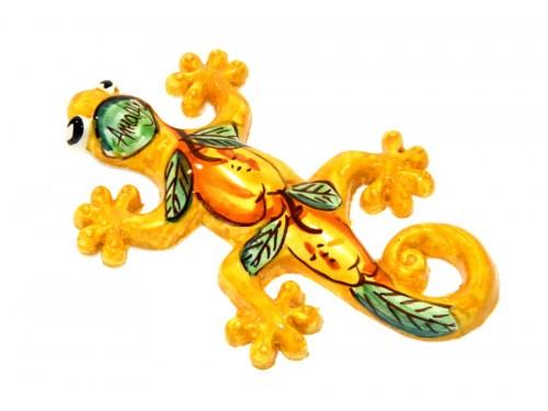 Lizard Lemon yellow (to hang)