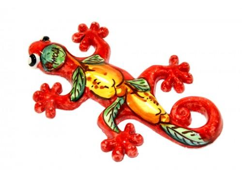 Lizard Lemon red (to hang)