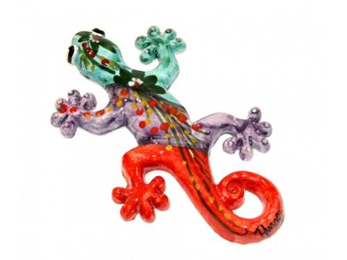 Lizard Aquamarine (to hang)