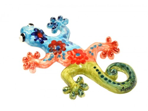 Lizard light blue (to hang)