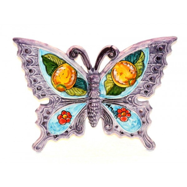 Butterfly Lemon Flower Purple to hang (from 3,55 to 8,25 inches)