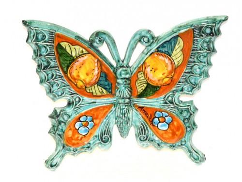 Farfalla Limoni Fiori Acquamarina