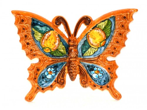 Butterfly Lemon Flower Orange to hang (from 3,55 to 8,25 inches)