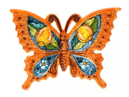 Farfalla Limoni Fiori arancione