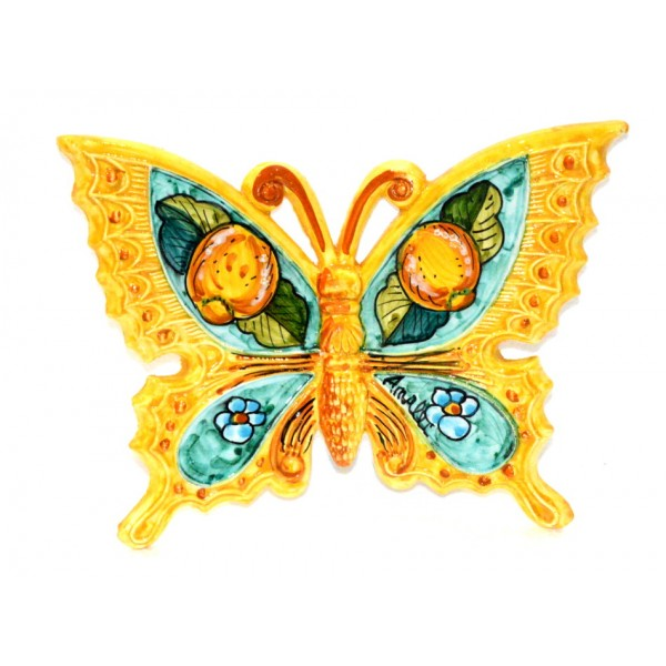 Butterfly Lemon Flower Yellow to hang (from 3,55 to 8,25 inches)