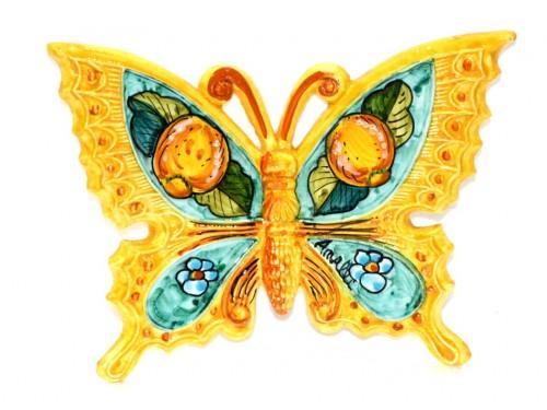 Farfalla Limoni Fiori giallo