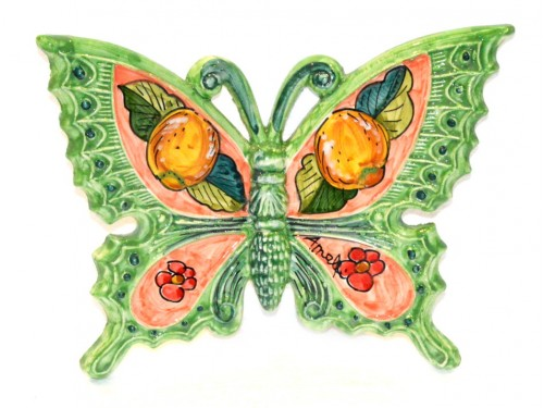 Butterfly Lemon Flower Green to hang (from 3,55 to 8,25 inches)