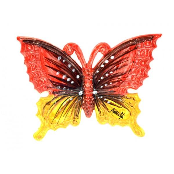 Farfalla Rosso e Giallo