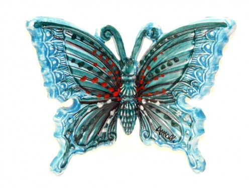 Butterfly Light Blue to hang (from 3,55 to 8,25 inches)