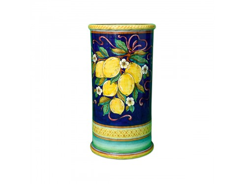 Umbrella Stand Lemon Blue