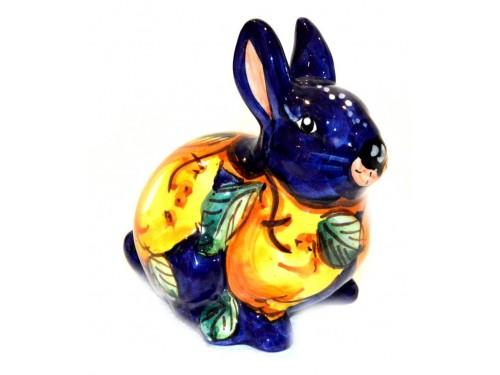 Coniglio Limoni blu 13cm