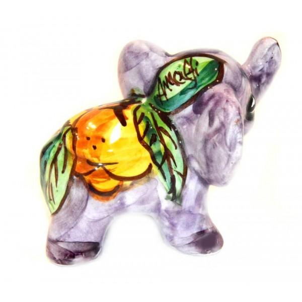 Elefante Limoni Viola 8cm