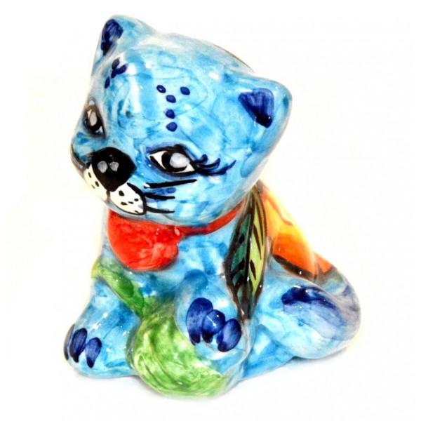Cat Lemon light blue 3,55 inches