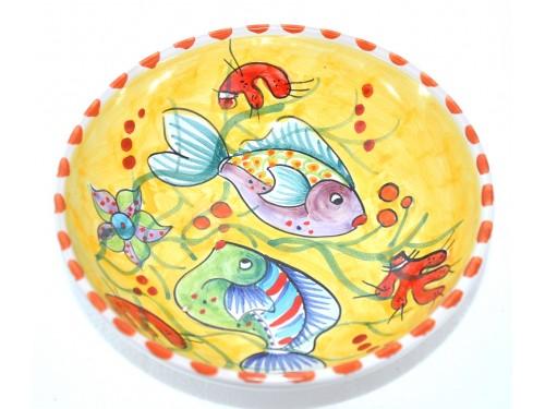 Bolo cm18 pesci giallo