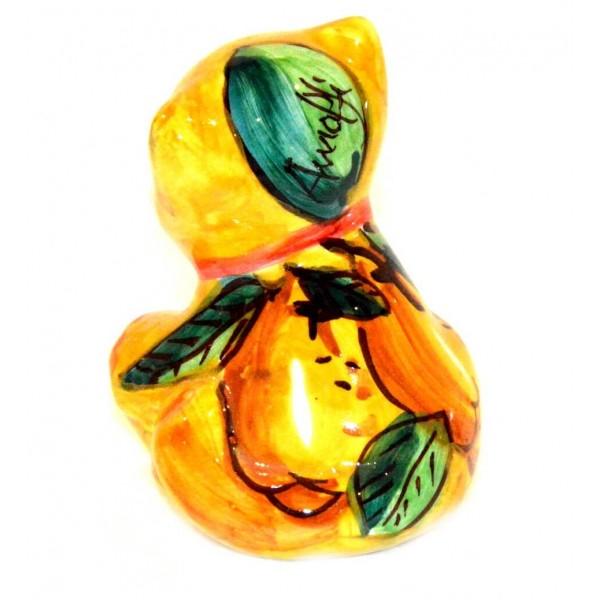 Cat Lemon yellow 3,55 inches