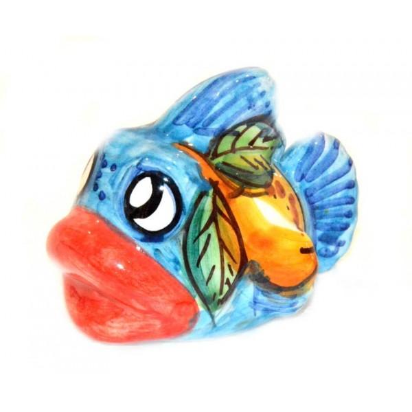 Fish Lemon light blue (lenght 3,93 inches)