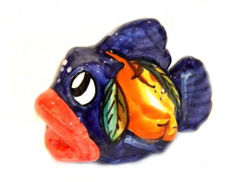 Fish Lemon blue (lenght 3,93 inches)