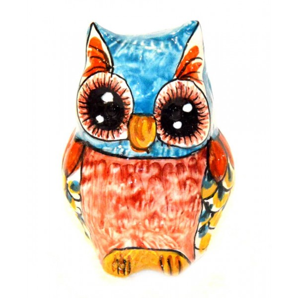 Owl light blue 3,93 inches