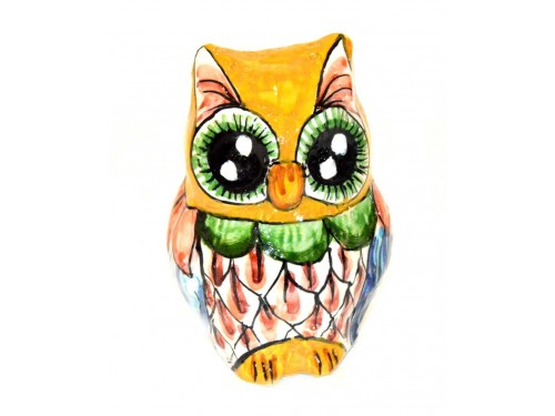 Owl yellow 3,93 inches