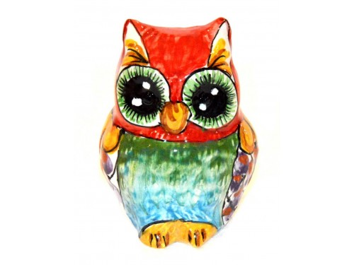 Owl red 3,93 inches