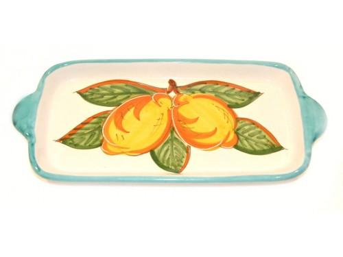 Rectangular Tray Lemon Green