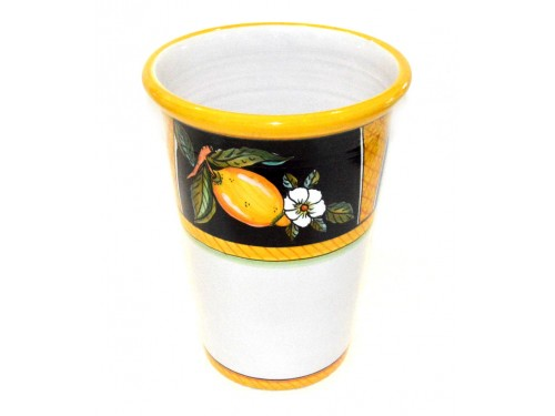Vase - Ice Bucket Lemon Conca Black
