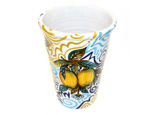 Vase - Ice Bucket Lemon Modern