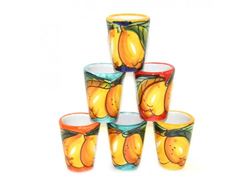 Shot Glasses Lemon 6 people