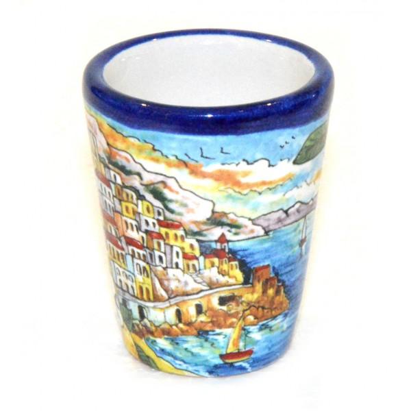 Shot Glass Amalfi Blue
