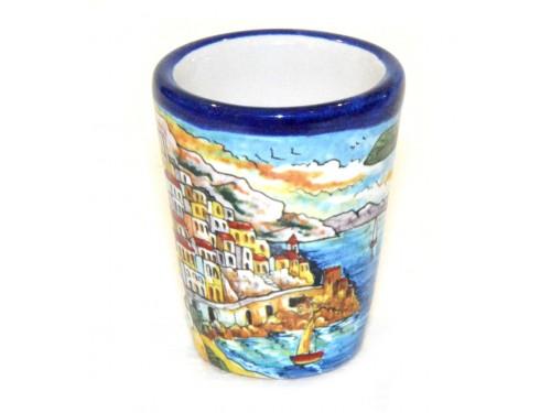 Bicchierino Limoncello Amalfi Blu