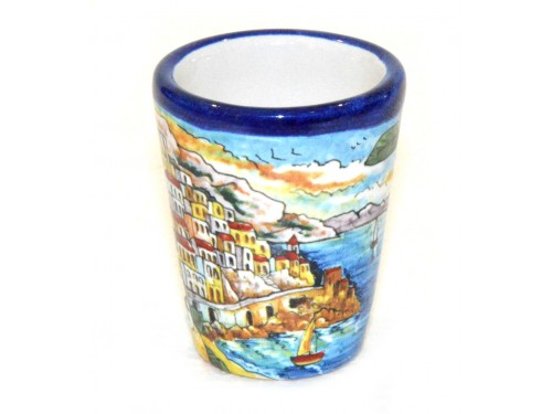 Shot Glass Amalfi Blue